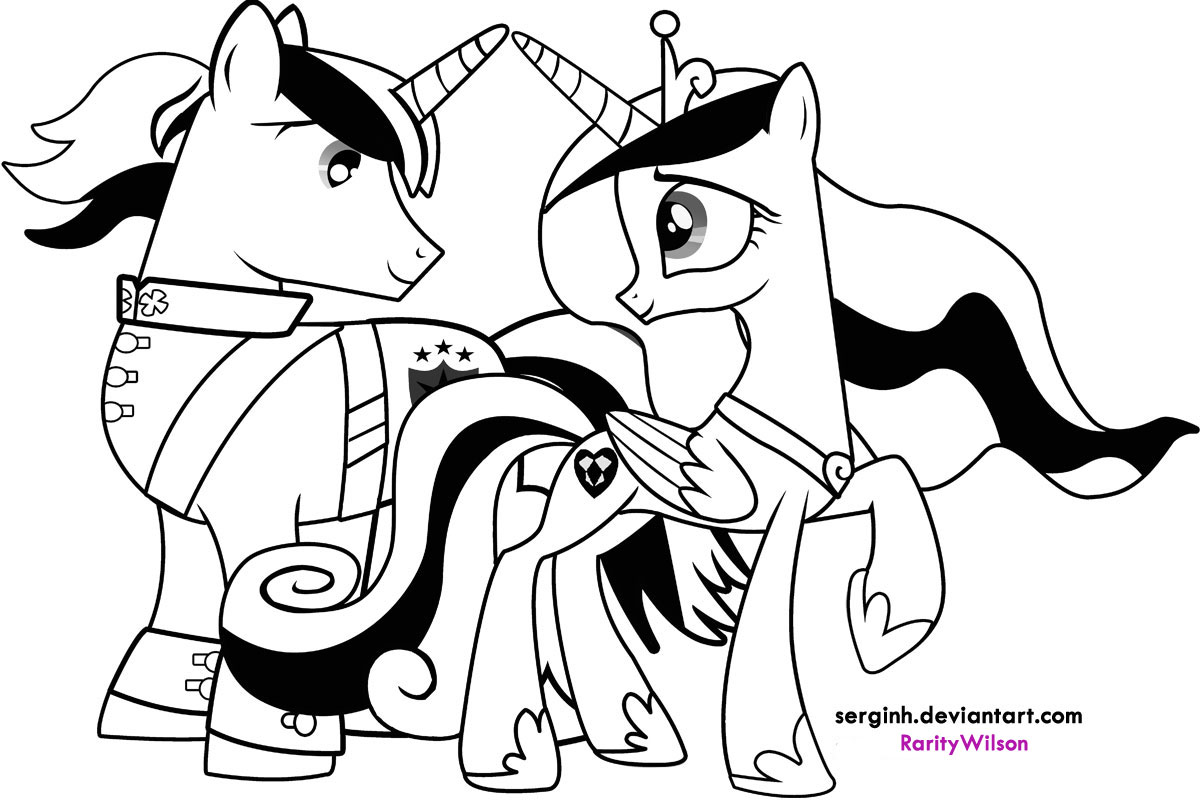 1200x800 Coloring Pages Of My Little Pony Friendship Is