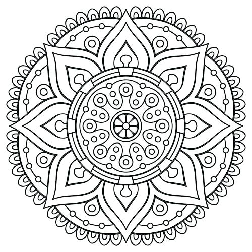 500x500 Free Online Coloring Pages For Adults Christmas