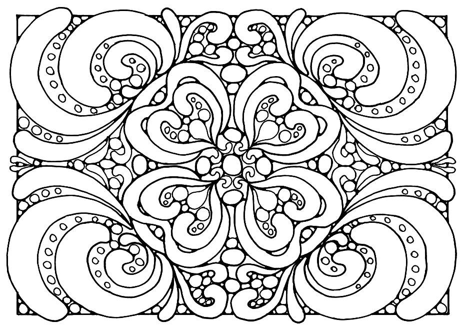 936x663 Chic And Creative Free Adult Coloring Page Online Pages Marvelous