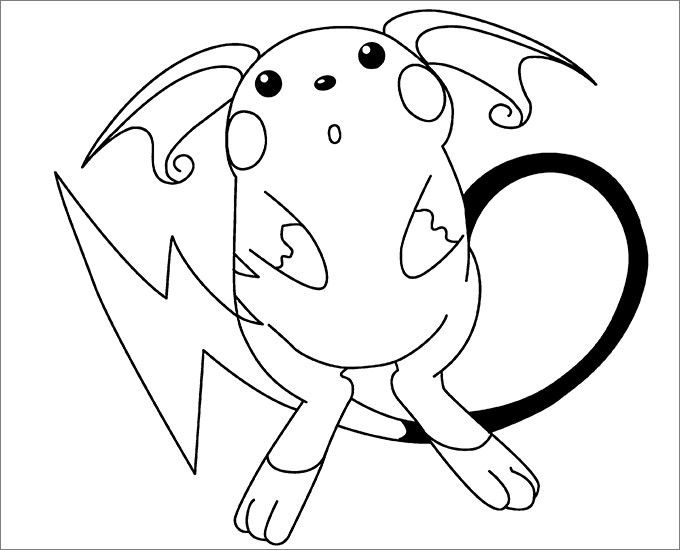 680x550 New Pokemon Coloring Pages Free