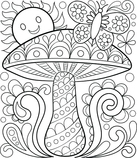 525x604 Fall Coloring Pages Pdf Plus Good Coloring Pages Of Animals