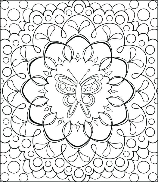 525x605 Free Adult Coloring Pages Pdf Together With Adult Coloring Pages