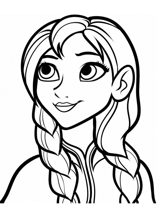 654x872 Free Printable Frozen Coloring Pages For Kids Best