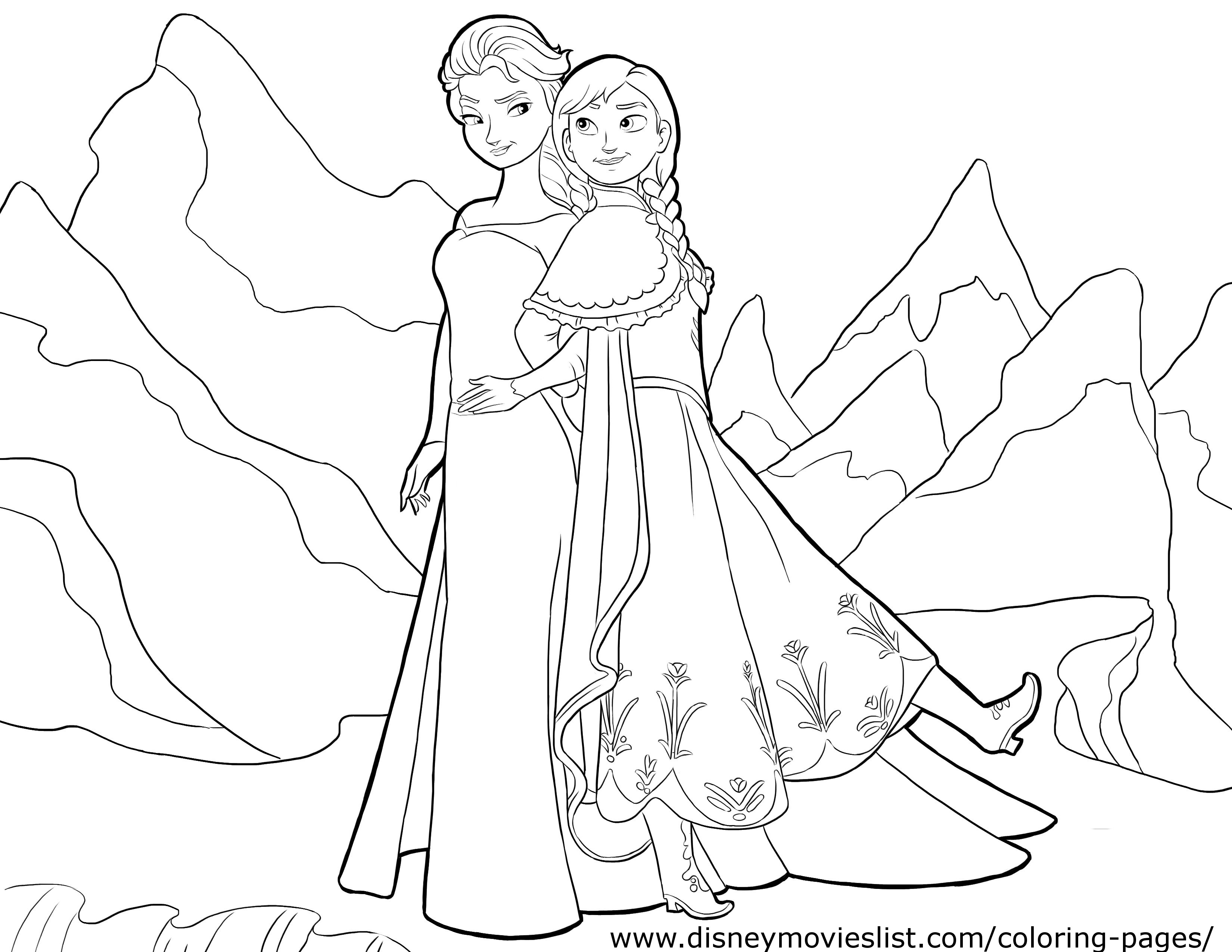 3300x2550 Best Of Elsa And Anna Coloring Pages Princess Coloring Pages