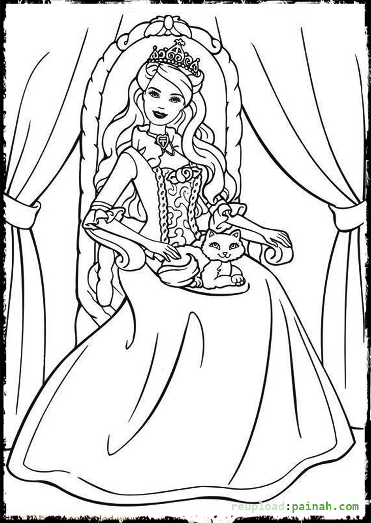 728x1024 Gorgeous Design Queen Coloring Pages Download And Print For Free