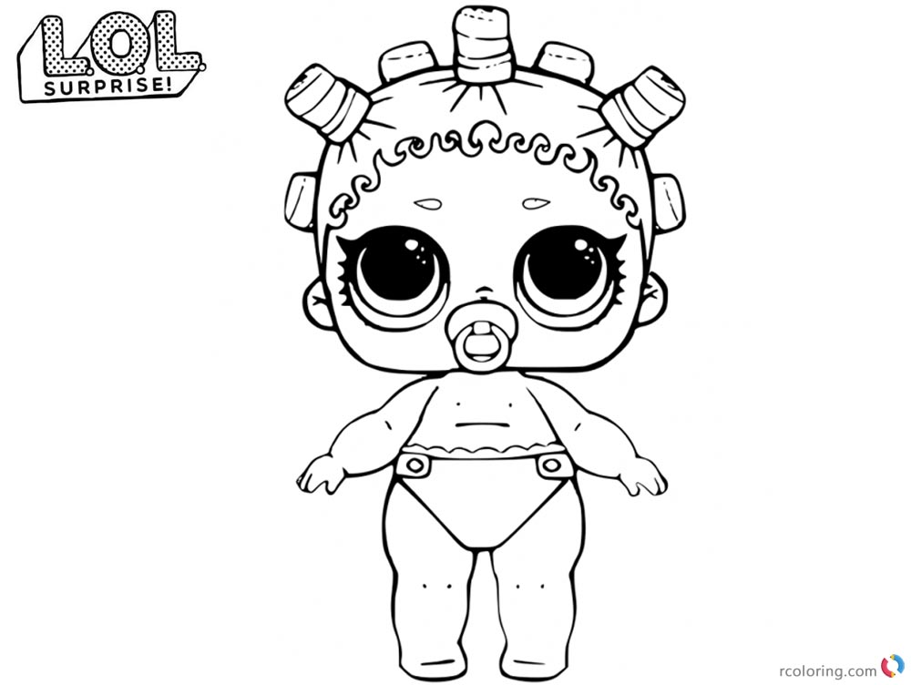 1000x752 Lol Coloring Pages Lil Cosmic Queen