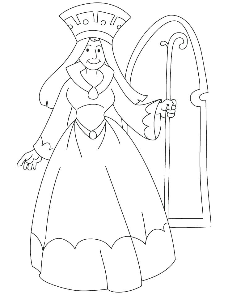738x954 Queen Coloring Pages Queen Coloring Pages Queen Coloring Pages