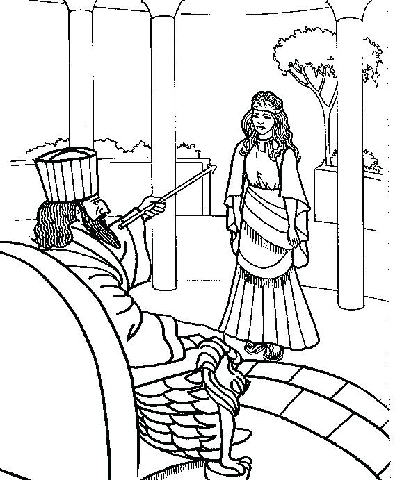 578x691 Queen Esther Coloring Page Queen Coloring Page Queen Coloring