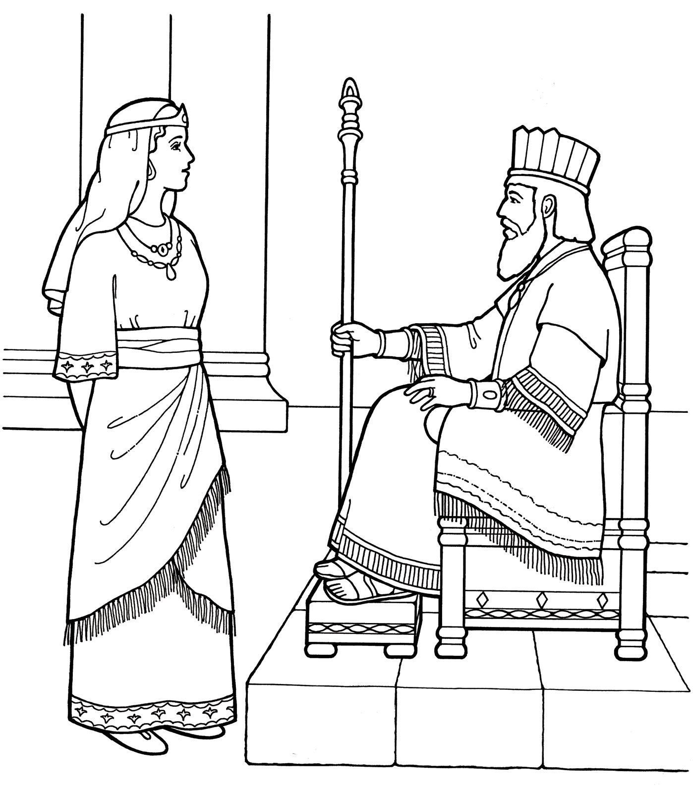 1398x1600 Coloring Sheet Queen Esther Coloring Sheet