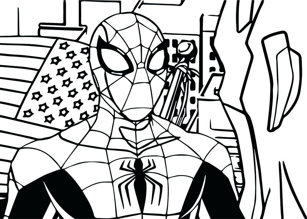 1024x729 Carnage Coloring Pages Color Pages Avengers Coloring Page