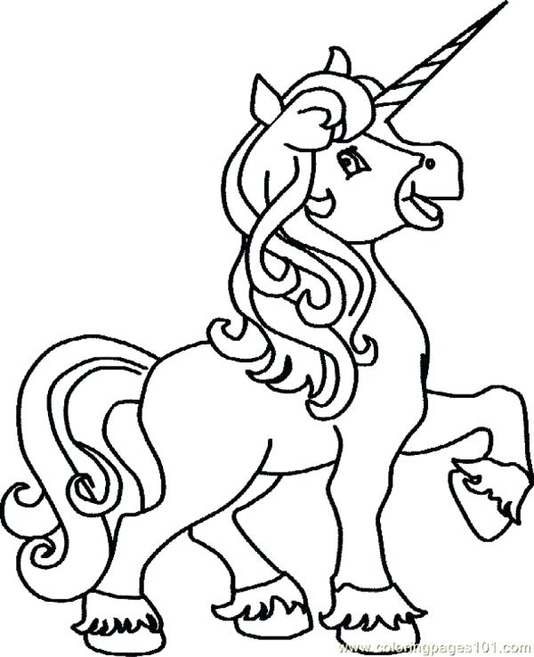 600x738 Unicorn Picture To Color Unicorn With Wings Coloring Pages Color