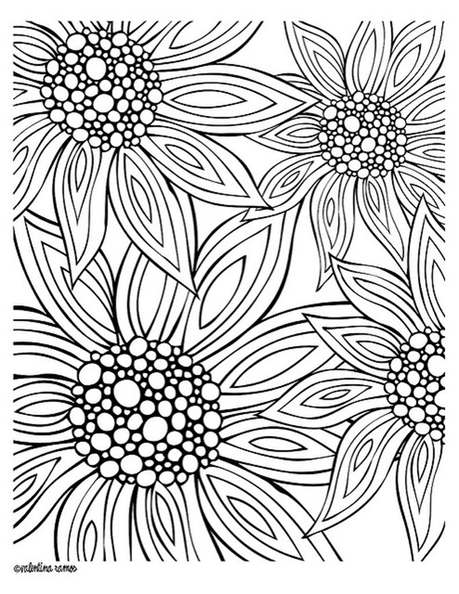 Free Coloring Pages To Print For Adults at GetDrawings ...