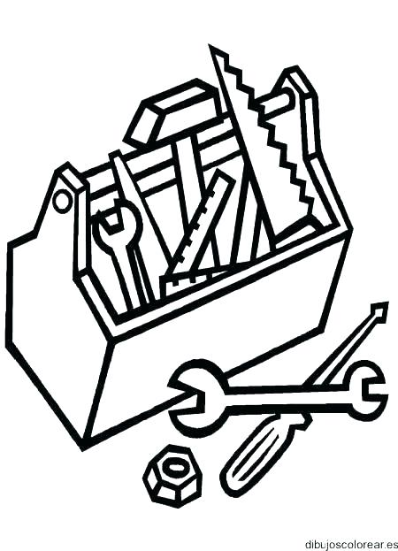 450x623 Tool Coloring Pages Construction Coloring Pages Tool Coloring