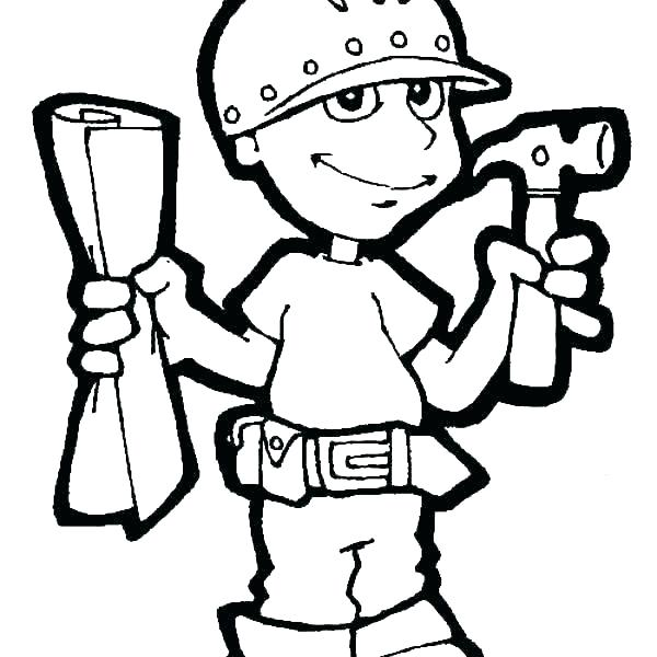 600x600 Tool Coloring Pages Gardening Tools Coloring Pages Botanical