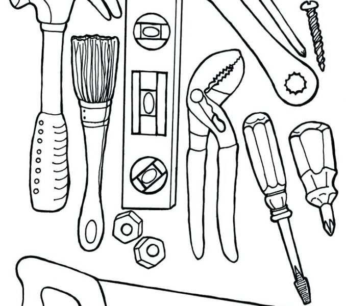 678x600 Tool Coloring Sheets Surprising Tool Coloring Pages On Download