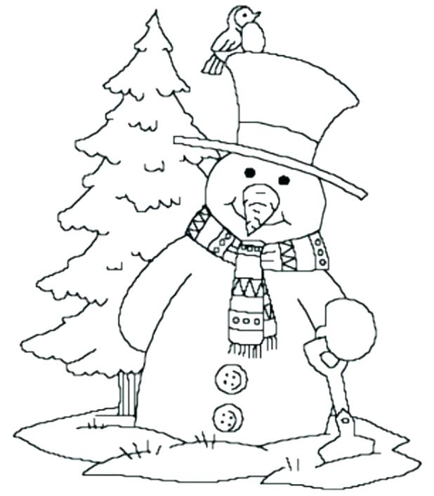 618x707 Free Coloring Pages Winter Printable Drawings Season Nature Cool
