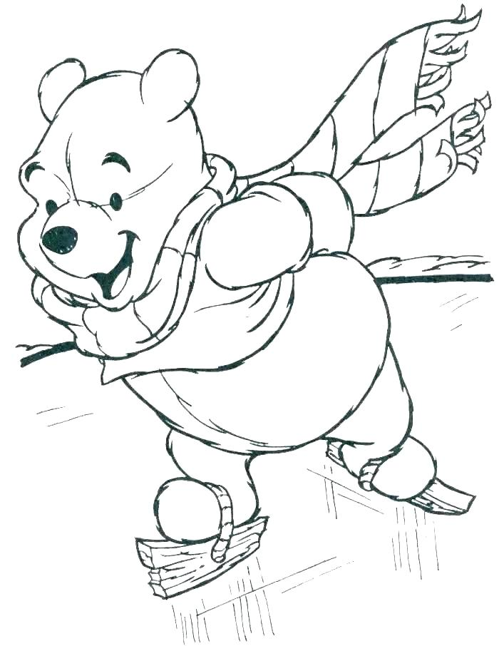 700x906 Free Coloring Pages Winter Winter Coloring Sheets For Kindergarten