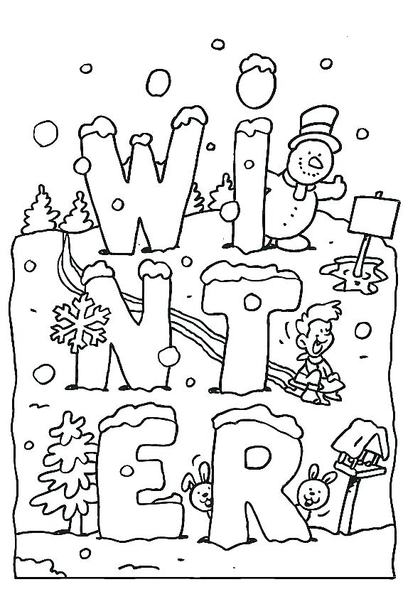 567x850 Free Winter Coloring Pages Creative Havens Winter Scenes Colouring