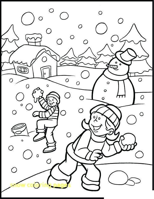 618x798 Winter Coloring Pages Free Winter Coloring Pages Free Winter