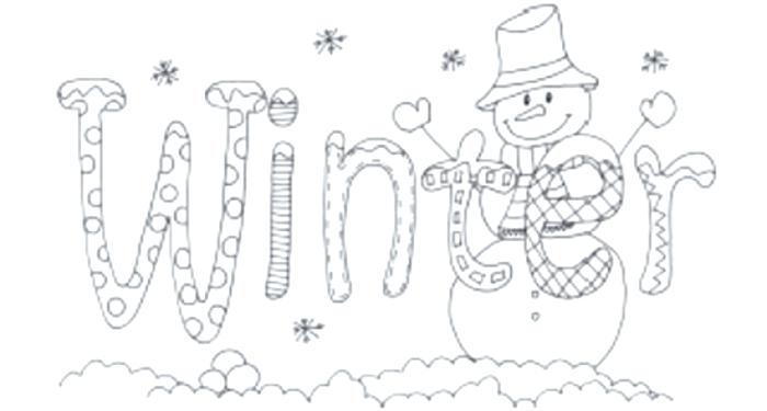700x375 Winter Printable Coloring Pages Winter Coloring Sheets Printable