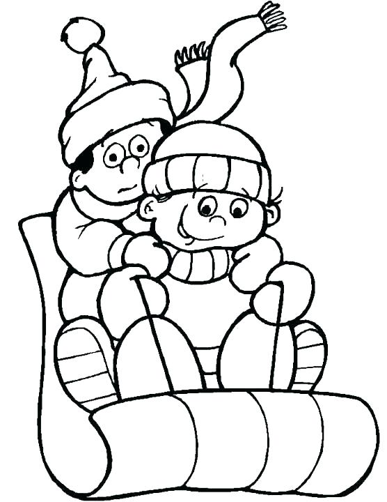 556x720 Winter Scene Coloring Pages Winter Coloring Sheets Printable