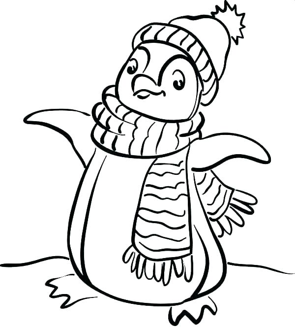 600x668 Coloring Pages For Winter Free Coloring Pages Winter Free