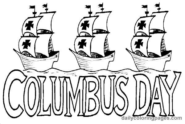 Free Columbus Day Coloring Pages at GetDrawings.com | Free ...