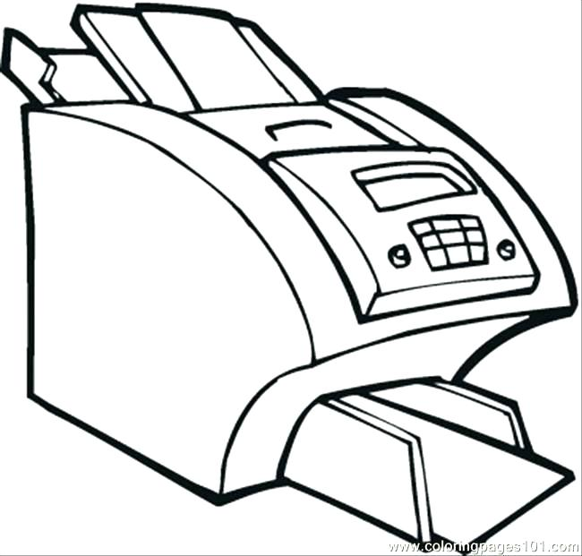 650x621 Computer Coloring Pages Computer Coloring Pages Printer Coloring