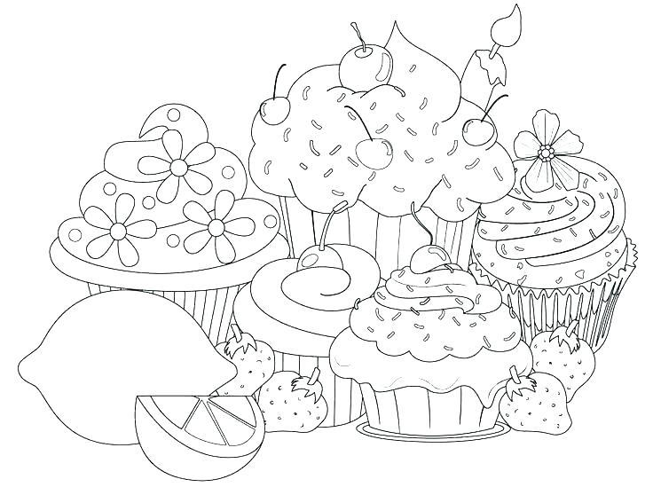 736x549 Cupcake Coloring Page Cupcake Coloring Page Cupcake Coloring Book