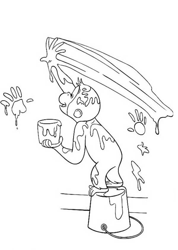 Free Curious George Coloring Pages At Getdrawings Com Free For