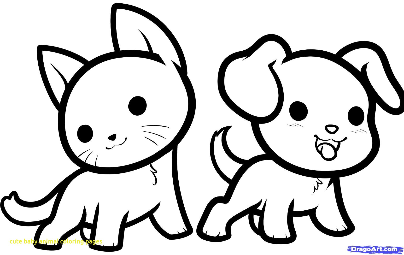 1685x1063 Cute Animal Coloring Pages