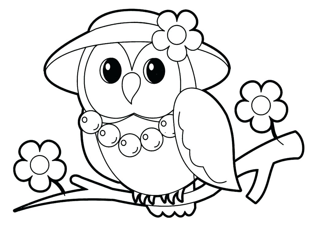 1008x768 Cute Animal Coloring Pages Or Cute Animal Coloring Pages Printable