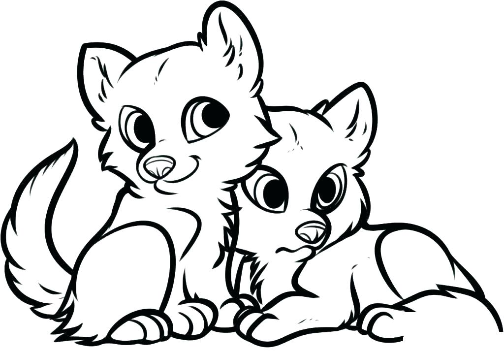 1024x717 Cute Animal Coloring Pages Printable Free Animal Coloring Pages