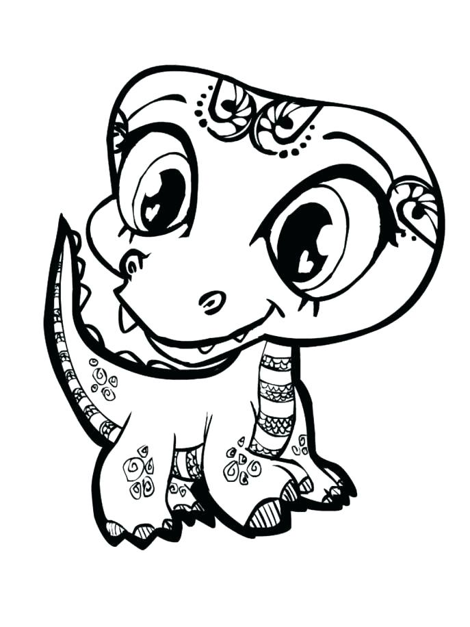 687x916 Cute Baby Animal Coloring Pages Baby Animal Coloring Pages Packed