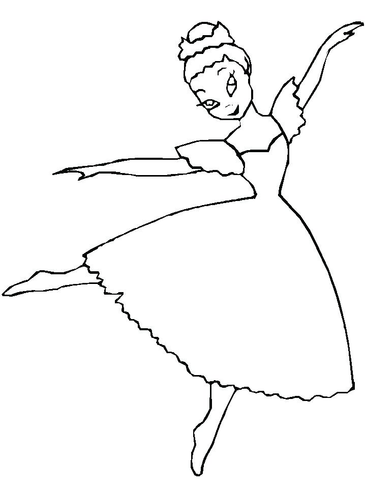 718x957 Delightful Design Dance Coloring Pages Good Dancer And Free