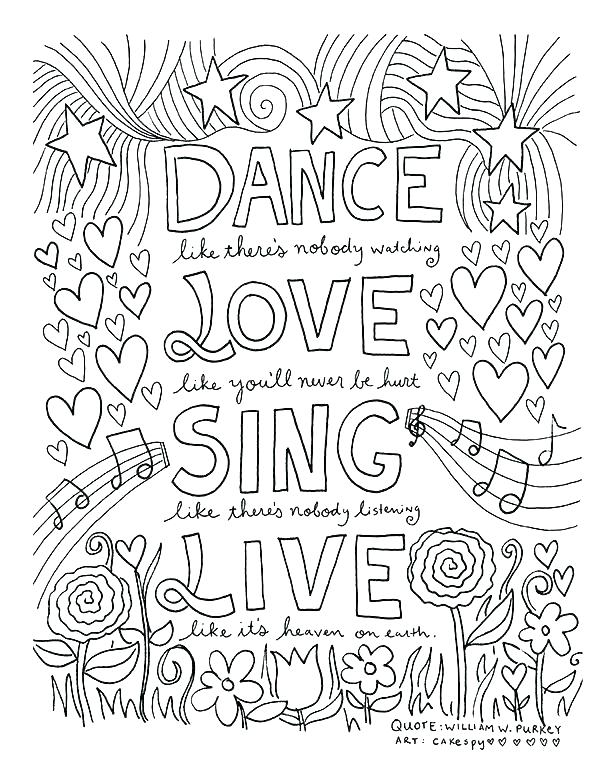 600x776 Jazz Coloring Pages
