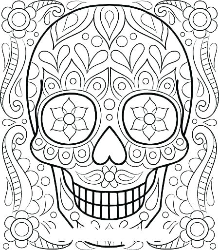 450x513 Really Detailed Coloring Pages Detailed Coloring Pages For Adults