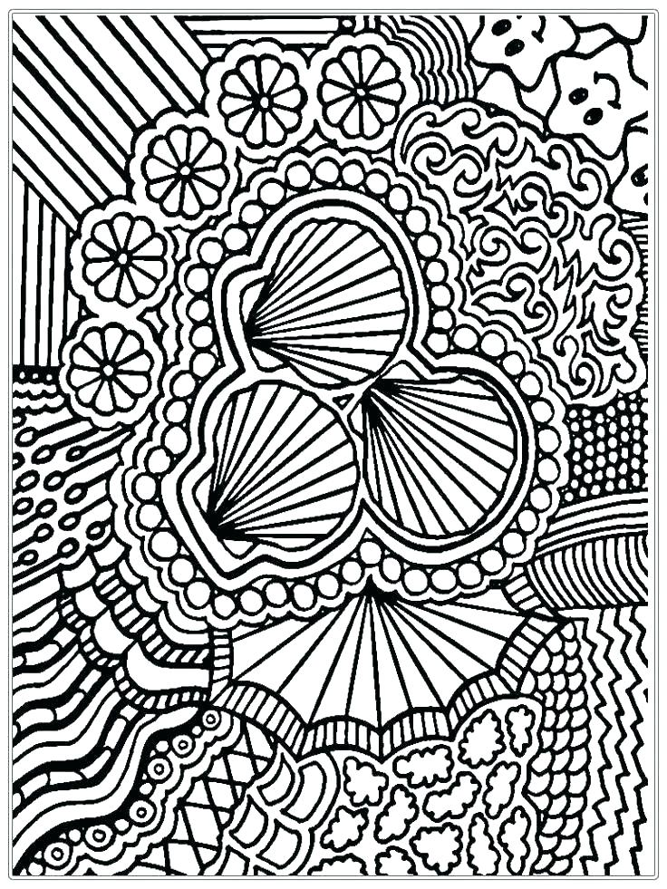 736x981 Advanced Coloring Pages For Kids