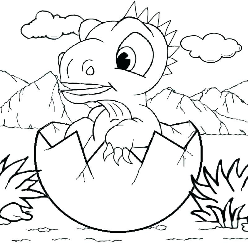 Free Dinosaur Coloring Pages At Getdrawings Free Download