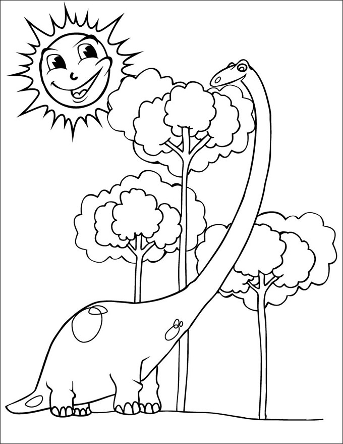 680x879 Dinosaur Coloring Pages Pdf Fresh Dinosaur Coloring Pages Free