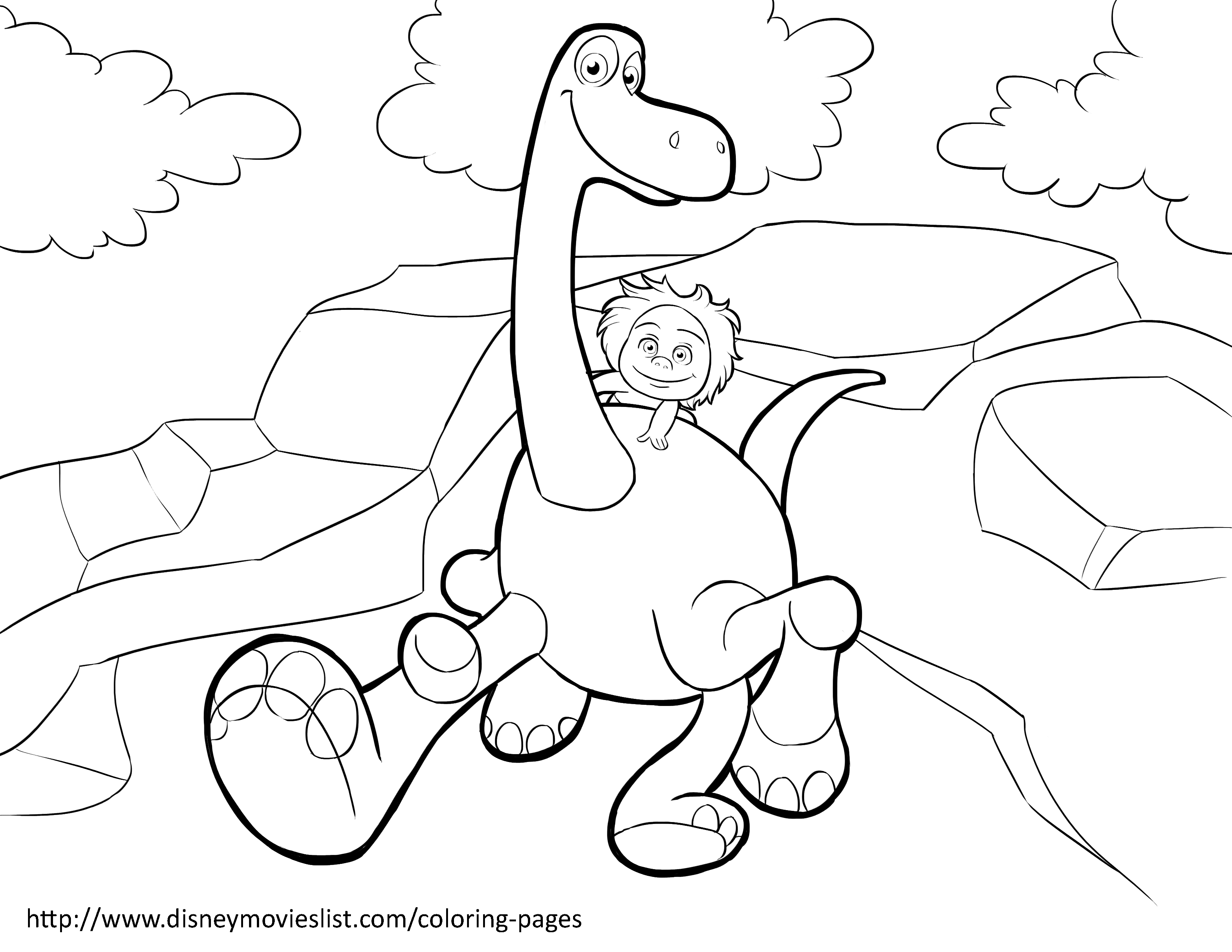3300x2550 Disney's The Good Dinosaur Coloring Pages Sheet, Free Disney