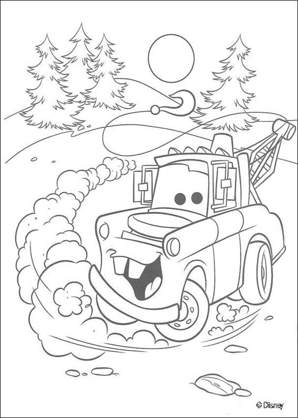 607x850 Free Disney Cars Coloring Pages Cars, Free Printables And Craft