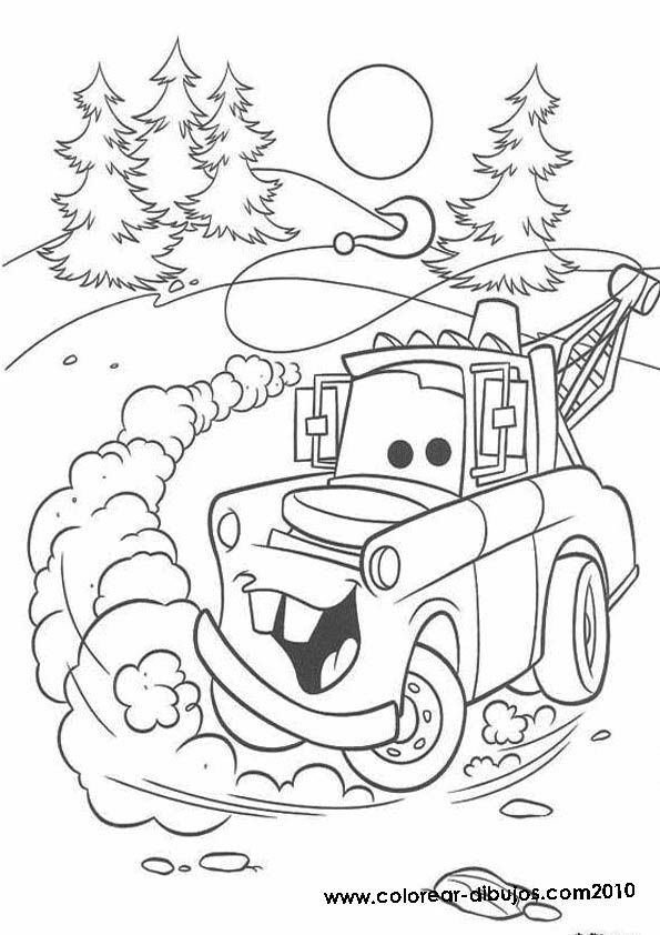 595x842 Free Disney Cars Coloring Pages