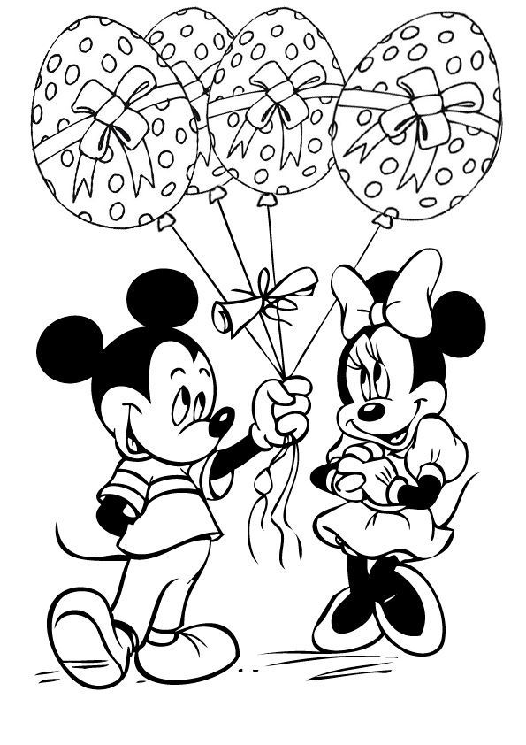 595x842 Top Free Printable Disney Easter Coloring Pages Online