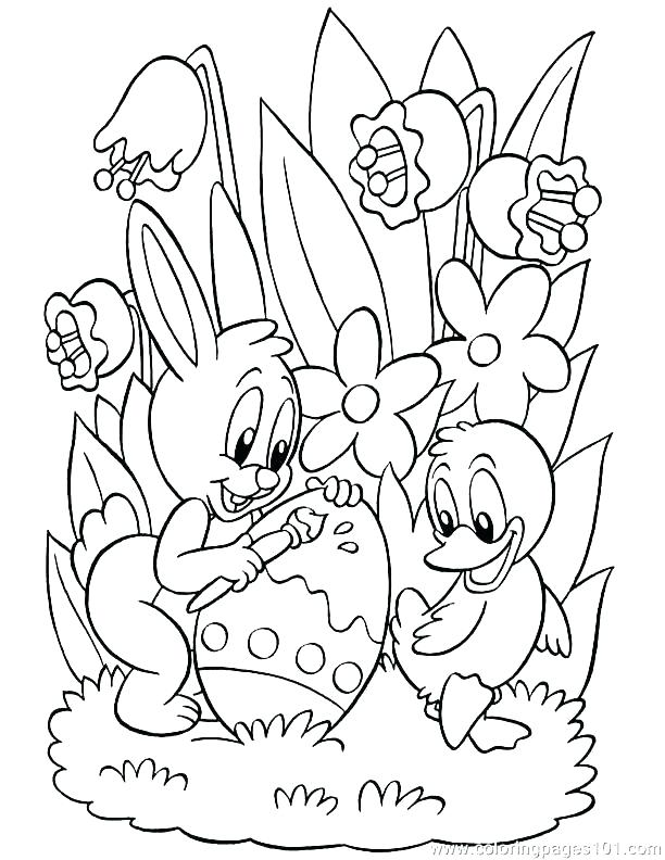 612x792 Easter Coloring Book