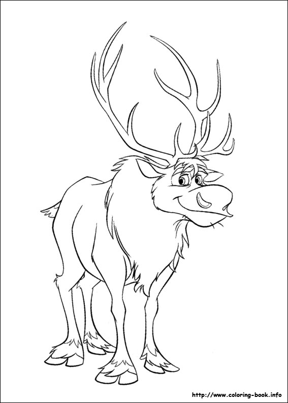567x794 Frozen Coloring Pages On Coloring