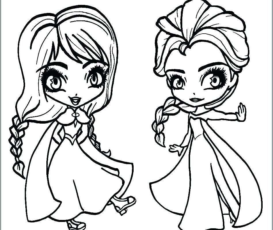 948x800 Disney Frozen Coloring Pages Free