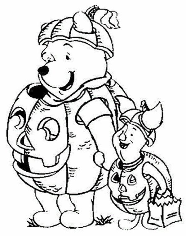 Free Disney Halloween Coloring Pages At Getdrawings Free Download
