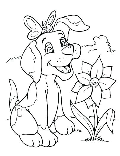 Free Dog Coloring Pages at GetDrawings.com | Free for ...