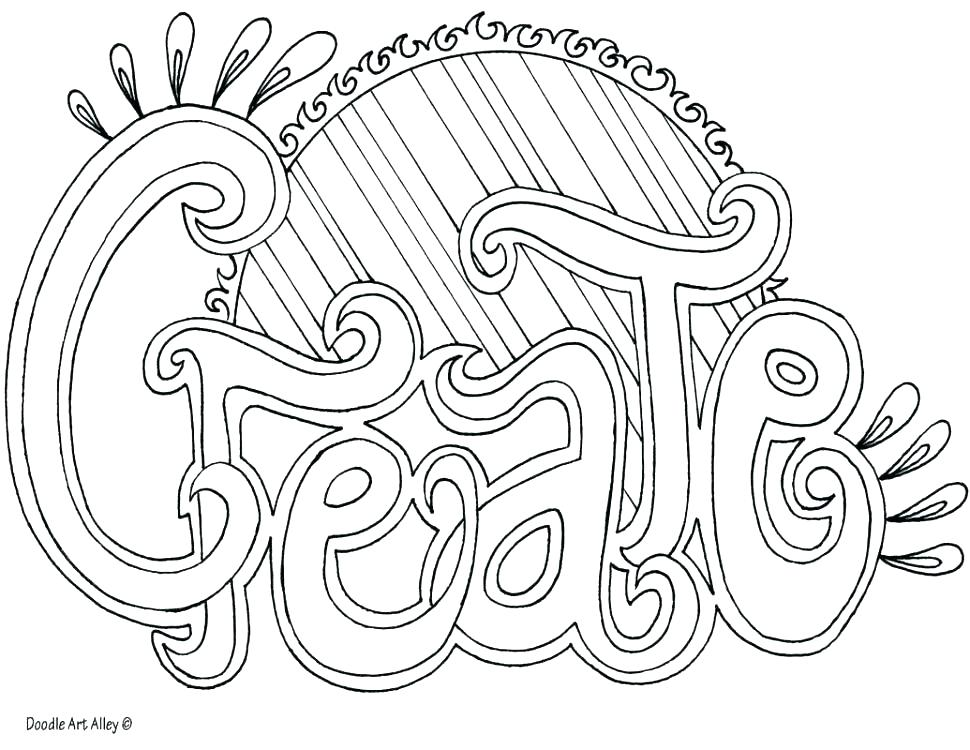 Free Doodle Art Coloring Pages at GetDrawings.com | Free for ...